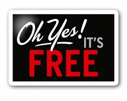 Sign-Oh Yes It's Free
