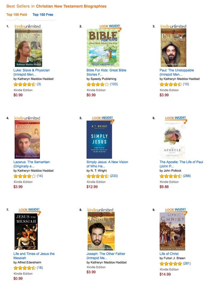 Best Sellers in NT bios-Amazon-9-9-16
