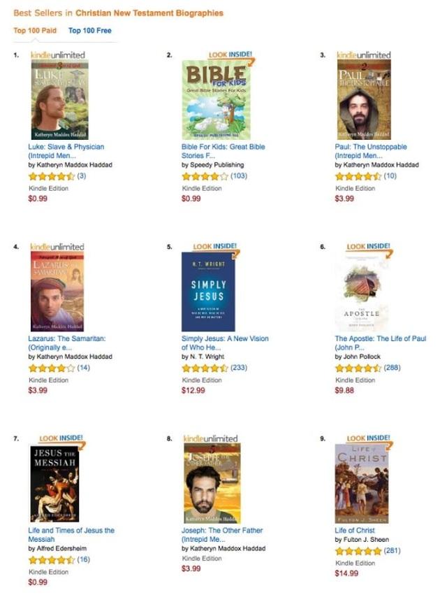 Best Sellers in NT bios-Amazon-9-9-16
