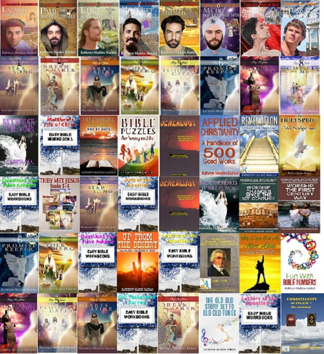 Collage of all Books-Medium