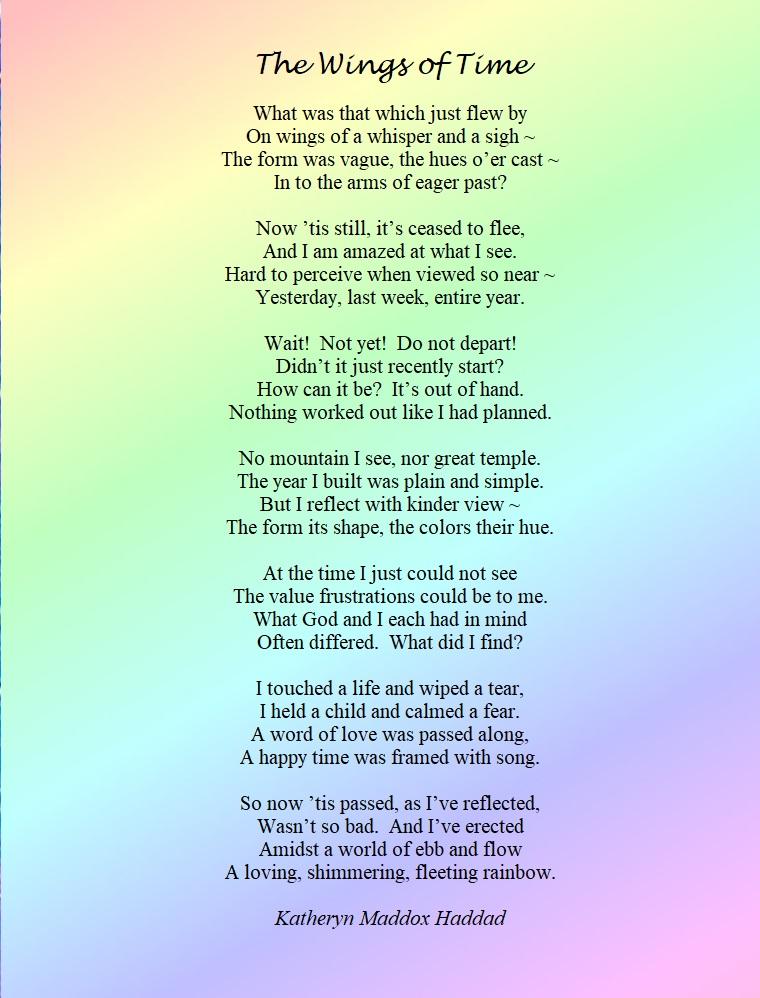 Poem-Wings of Time